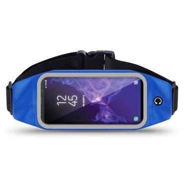 Samsung Galaxy S9 Bauchtasche Sport Tasche Jogging Hülle Handy Lauf Bag Fitness – Bild 25