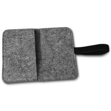 Filz Tasche Samsung Galaxy S9 / S9 Plus Smartphone Hülle Sleeve Universal Cover  – Bild 13
