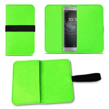 Schutzhülle Sony Xperia XA2 Filz Tasche Cover Case Handy Filztasche Hülle Etui – Bild 20