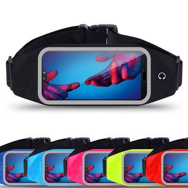 Huawei P20 Pro Bauchtasche Sport Tasche Jogging Handy Hülle Lauf Case Fitness  – Bild 1