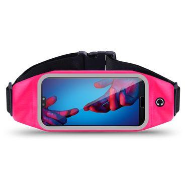 Huawei P20 Lite Bauchtasche Sport Hüfttasche Jogging Hülle Handy Case Fitness  – Bild 22