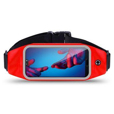 Huawei P20 Lite Bauchtasche Sport Hüfttasche Jogging Hülle Handy Case Fitness  – Bild 10