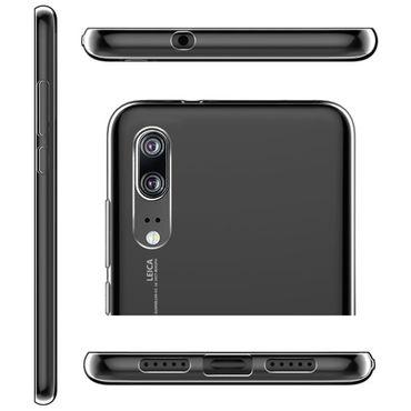Ultra Slim Case Huawei P20 Bumper Tasche Hülle Silikon 0,3 mm Schale Schutzhülle – Bild 7