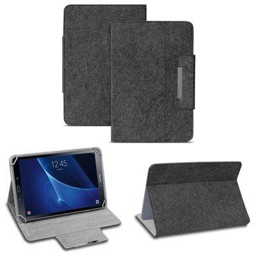 Samsung Galaxy Tab A6 10.1 2016 Tablet Tasche Filz Hülle Schutzhülle Case Cover – Bild 9
