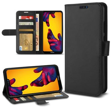 Handy Hülle für Huawei P20 / Pro / Lite Tasche Klapp Cover Flip Case Schutzhülle – Bild 8