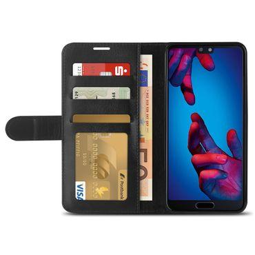 Klapphülle Huawei P20 / Lite / Pro Tasche Hülle Book Cover Flip Case Schutzhülle – Bild 11