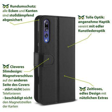 Klapphülle Huawei P20 / Lite / Pro Tasche Hülle Book Cover Flip Case Schutzhülle – Bild 5