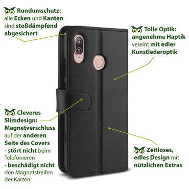 Handyhülle Huawei P20 Lite Pro / Mate 20 Lite Tasche Hülle Flip Case Schutzhülle – Bild 6
