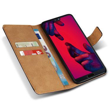 Handy Hülle Echt Leder Huawei P20 / Lite Pro / Mate 10 20 Flip Cover Tasche Book – Bild 18
