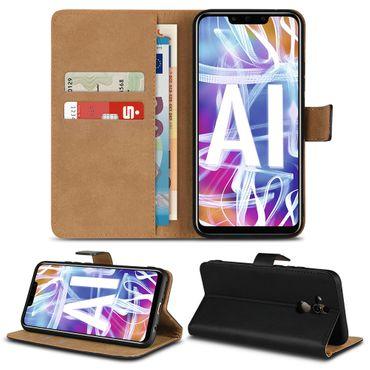 Handy Hülle Echt Leder für Smartphone Flip Cover Schutz Tasche Book Schutzhülle – Bild 8