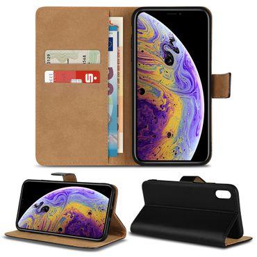 Handy Hülle Echt Leder für Smartphone Flip Cover Schutz Tasche Book Schutzhülle – Bild 7