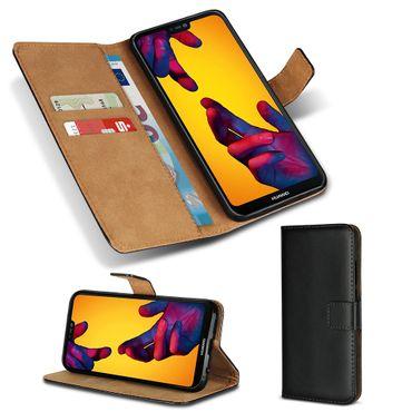 Leder Tasche für Smartphone Flip Cover Handy Schutz Hülle Case Schutzhülle Etui – Bild 2