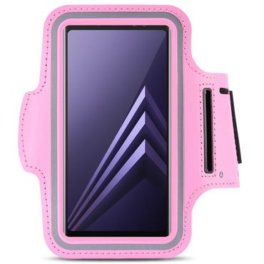 Sportarmband Tasche Samsung Galaxy A6 Plus 2018 Jogging Armcase Fitness Hülle  – Bild 21