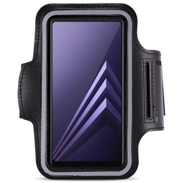 Jogging Fitness Hülle Samsung Galaxy A6 2018 Armcase Sportarmband Lauf Tasche  – Bild 2