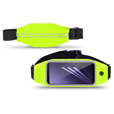 Tasche Bauchtasche Samsung Galaxy A6 Plus 2018 Hüfttasche Jogging Hülle Case  – Bild 8