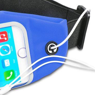 Lauftasche Samsung Galaxy A6 2018 Handy Tasche Bauchtasche Hülle Fitness Case – Bild 23