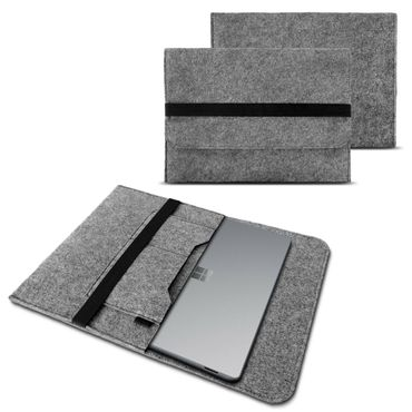 Sleeve Hülle Microsoft Surface Book 2 13.5 Zoll Notebook Tasche Filz Cover Case – Bild 2