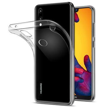 Tasche Huawei Smartphone Hülle Silikon Case Bumper Schale transparent Ultra Slim – Bild 3