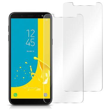 2x Schutzglas Samsung Galaxy J6 2018 Displayglas Panzerfolie Echt Glas Folie 9H – Bild 2