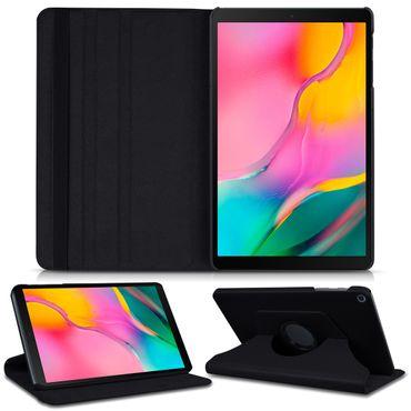 Schutzhülle für Samsung Galaxy Tab A 10.1 2019 Tablet Tasche Hülle Case Schwarz  – Bild 1