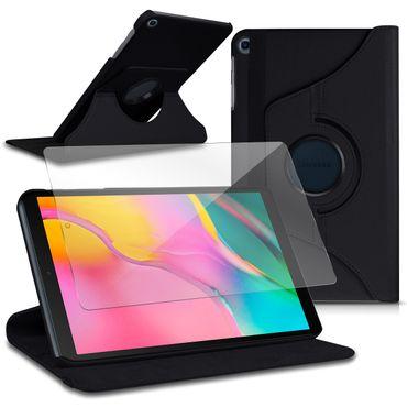 Schutzhülle Samsung Galaxy Tab A 10.1 2019 Tablet Tasche Hülle Schutzfolie Case – Bild 1