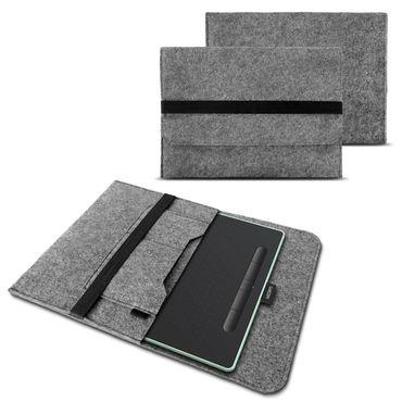 Sleeve Hülle Stifttablett Wacom Intuos S Grafiktablett Tasche Filz 10.1 Zoll Bag – Bild 2