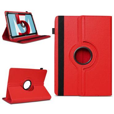 Tablet Hülle Huawei MediaPad M5 Lite Tasche Schutzhülle Case Cover 360° Drehbar – Bild 8