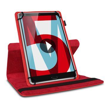 Tablet Hülle Huawei MediaPad M5 Lite Tasche Schutzhülle Case Cover 360° Drehbar – Bild 10
