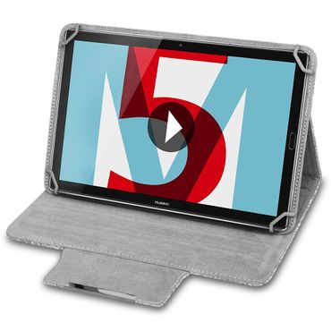 Huawei MediaPad M5 Lite Tablet Tasche Filz Hülle Schutzhülle 10.1 Case Cover – Bild 3