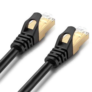 CAT 7 Netzwerkkabel RJ45 Patchkabel LAN DSL Ethernet Verlegekabel Rohkabel SFTP – Bild 6