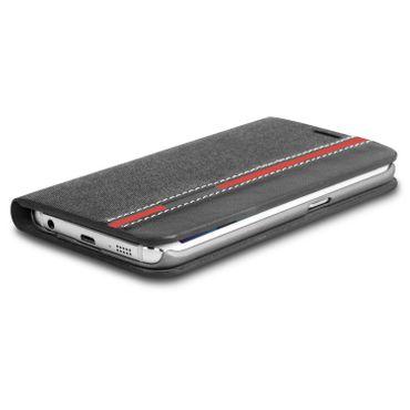 Klapphülle für Samsung Galaxy S6 Hülle Tasche Flip Case Schutzhülle Schutz Cover – Bild 7