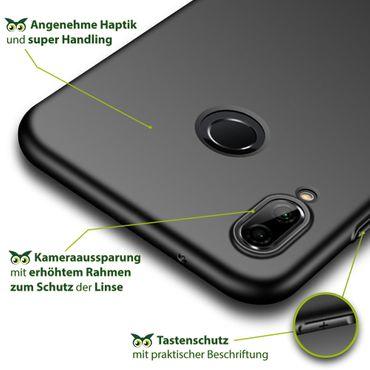 Schutzhülle Huawei P20 Lite Bumper Tasche Hülle Silikon Slim Case Schale Matt – Bild 7