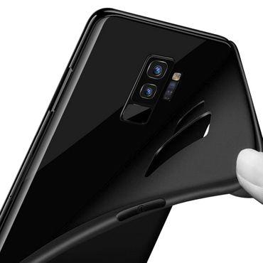 Hülle Bumper Samsung Galaxy S9 Plus Tasche Schutzhülle Slim Silikon Back Case – Bild 8