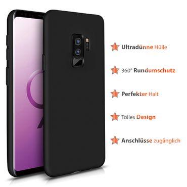 Hülle Bumper Samsung Galaxy S9 Plus Tasche Schutzhülle Slim Silikon Back Case – Bild 2