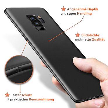 Hülle Bumper Samsung Galaxy S9 Plus Tasche Schutzhülle Slim Silikon Back Case – Bild 3