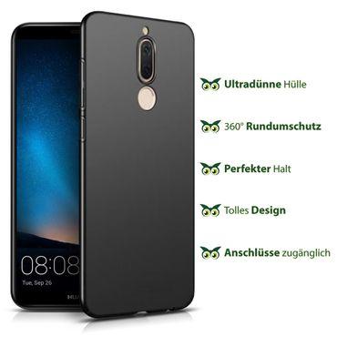 Schutzhülle Huawei Mate 10 Lite Bumper Tasche Hülle Silikon Slim Back Case Matt – Bild 8