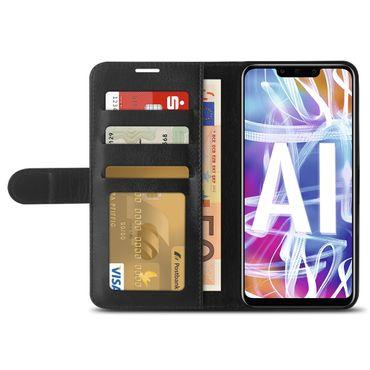 Klapphülle Huawei Mate 20 10 Lite P30 P20 Lite Pro Hülle Handy Tasche Book Case – Bild 4