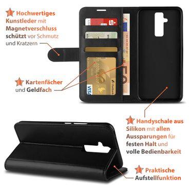 Klapphülle Huawei Mate 20 10 Lite P30 P20 Lite Pro Hülle Handy Tasche Book Case – Bild 8