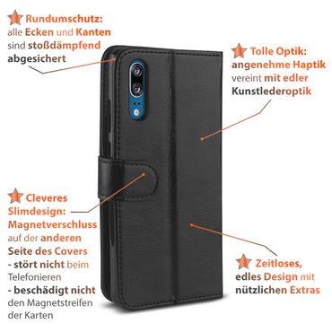 Klapphülle Huawei Mate 20 10 Lite P30 P20 Lite Pro Hülle Handy Tasche Book Case – Bild 15