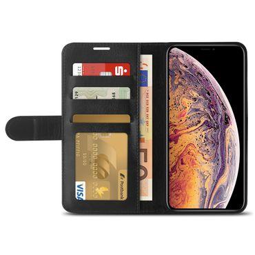 Klapphülle für Apple iPhone Xs Max Tasche Hülle Book Cover Flip Case Schutzhülle – Bild 4