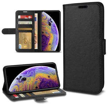 Klapphülle Apple iPhone 11 Pro Max Xr  Xs Max X Tasche Handy Hülle Schutzhülle – Bild 23