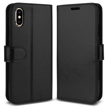 Klapphülle Apple iPhone 7 8 Plus X Xs Max Xr Tasche Hülle Book Cover Flip Case – Bild 6