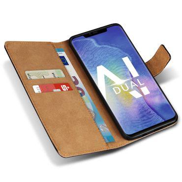 Klapphülle für Huawei P30 P20 Lite Pro Mate 20 10 Leder Tasche Cover Handy Hülle – Bild 10