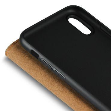 Klapphülle Apple iPhone Xs Leder Tasche Book Cover Handy Hülle Flip Slim Case – Bild 9