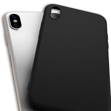 Hülle Bumper Apple iPhone Xs Max Tasche Schutzhülle Slim Silikon Back Case Cover – Bild 5
