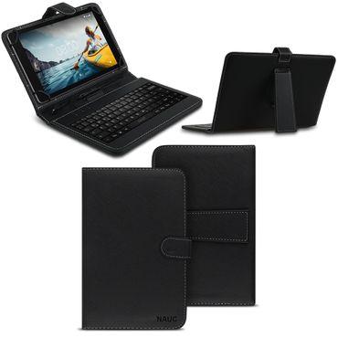 Medion Lifetab P10610 Tastatur Hülle Tasche Schutzhülle QWERTZ Keyboard USB Case – Bild 1