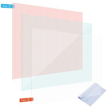 Display Schutz Folie Lenovo Tab P10 Schutzfolie 3x klar Universal Displayschutz  – Bild 1