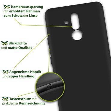 Huawei Mate 20 Lite Smartphone Cover Schutzhülle Tasche Hülle Silikon Soft Case – Bild 9