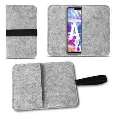 Filz Tasche Huawei Mate 20 Lite Hülle Schutz Cover Case Handy Schutzhülle Etui – Bild 15