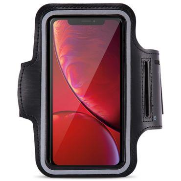 Sportarmband Tasche für Apple iPhone Xr Jogging Armcase Fitness Handy Case Hülle – Bild 2